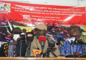 Guinée : le FNDC publie la liste complète des promoteurs du coup d'Etat constitutionnel de 2020