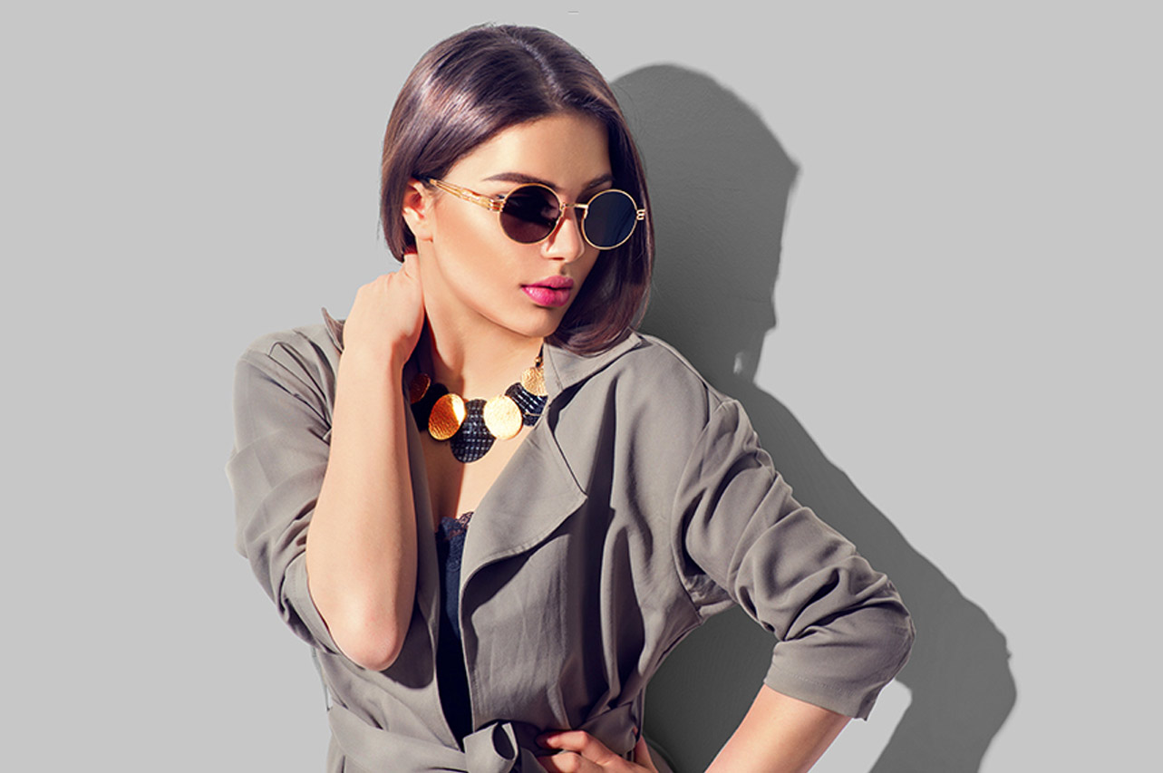 Woman Portrait With Perfect Trendy Accessories