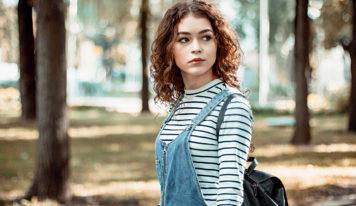 Beautiful Bright Beauty Fashion Girl
