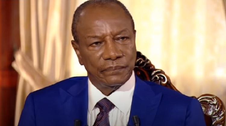 Capture d'écran Alpha Condé, président de Guinée, invité d'Internationales du 30 septembre 2018/TV5Monde, RFI, LeMonde