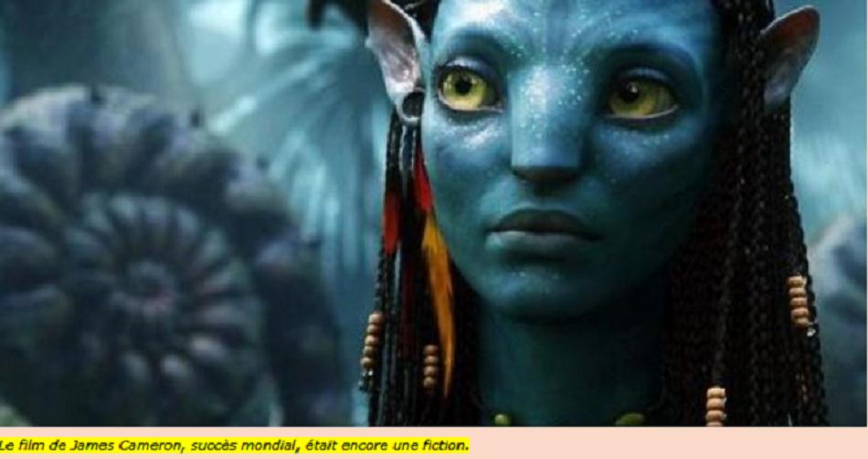 Le film de James Cameron, succès mondial, était encore une fiction.