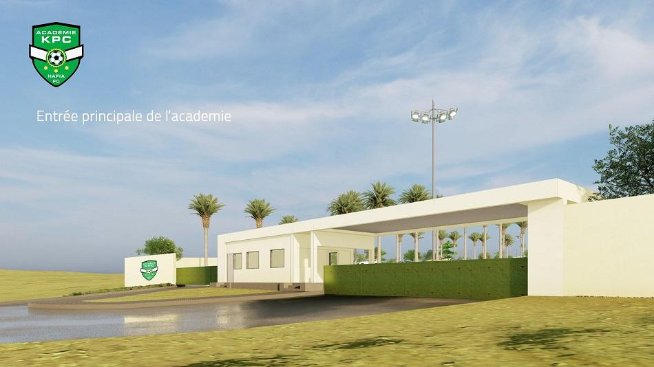 L'Académie KPC, le complexe sportif haut de gamme, en Guinée