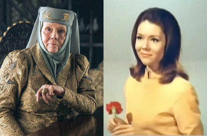 "MORT DE DIANA RIGG, ACTRICE DE ""CHAPEAU MELON"" ET DE ""GAME OF THRONES"""