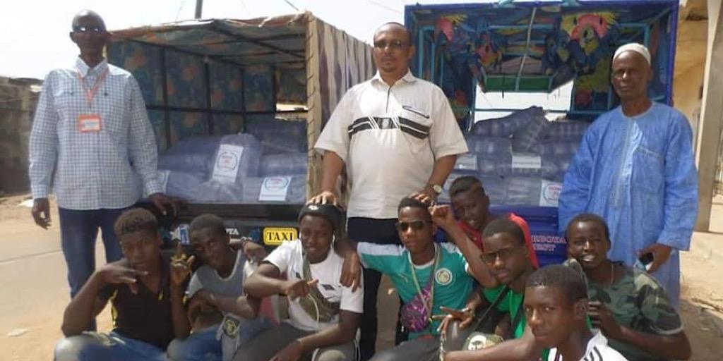 Frontière Guinée-Sénégal: le GOHA vole au secours des chauffeurs et convoyeurs Guinéens bloqués