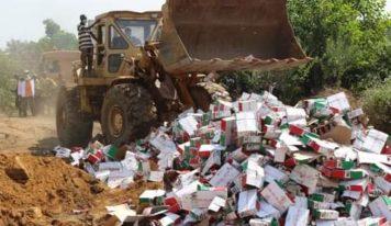 Conakry : L'Office national du contrôle de qualité lance un assaut contre les produits impropres à la consommation