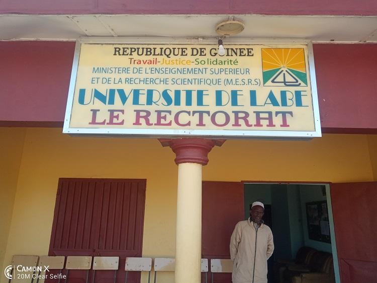 Université de Labé: le SLECG accuse les responsables du campus de complicité avec le syndicat gréviste