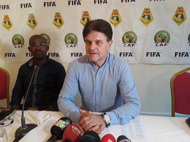 Liste du Syli National : Didier Six se justifie sur la forte présence des joueurs évoluant en Guinée