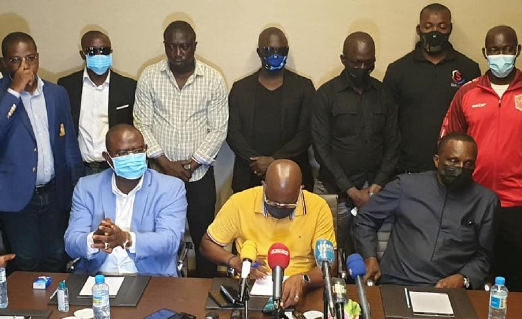 Elections à la Féguifoot: les candidats calment « le jeu » sous l'arbitrage du Général Mathurin Bangoura