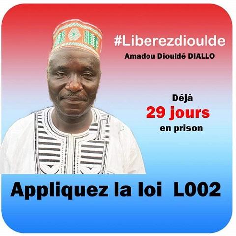 Liberté de la presse : une manifestation pour exiger la libération du journaliste Amadou Diouldé Diallo