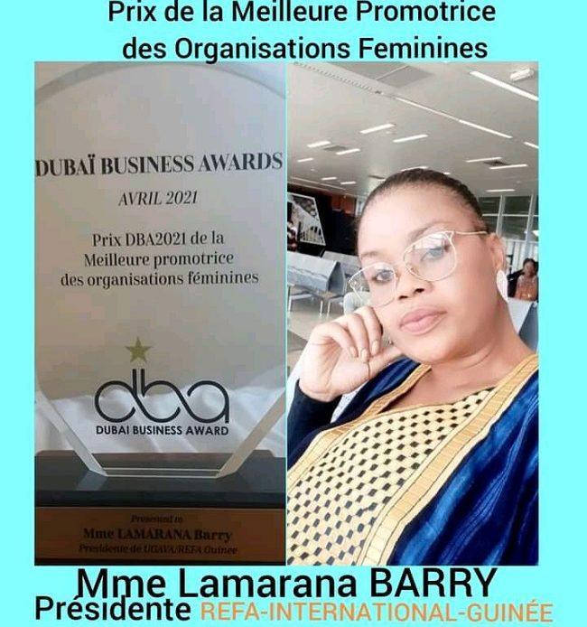 DUBAÏ BUSINESS AWARD: des Guinéens raflent des prix internationaux
