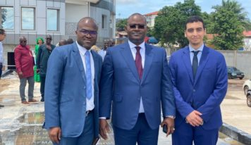 CAN Guinée-2025: Kerfalla CAMARA-KPC a reçu une délégation de l'Ambassade de France