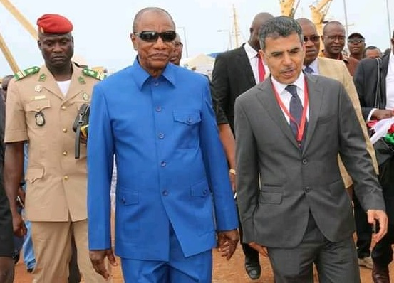 Bataille entre géants russe et turc au port de Conakry : Alpha Condé tape du poing sur la table…