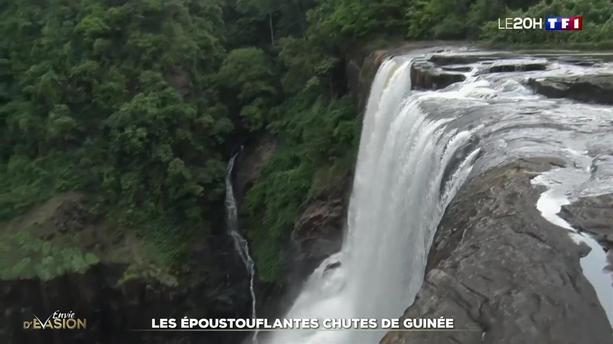 Évasion : les époustouflantes chutes du Fouta-Djalon en Guinée